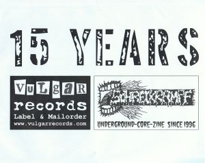 01. VARIOUS ARTISTS - ''15 years ...'' 7'' EP