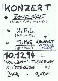 036. YACØPSÆ - ''Live @ Volxbad, Flensburg, Germany, 10.12.1994'' Version 02