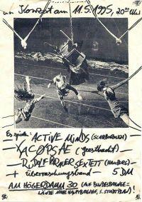 050. YACØPSÆ - Live @ Werkstatt (Am Höger Damm), Hamburg, Germany, Version 1 (11.05.1995)