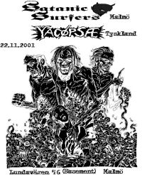 147. YACØPSÆ - ''Live @ Lundavägen 56 (Basement), Malmö, Sweden, 22.11.2001''