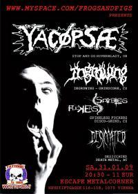 238. YACØPSÆ - ''Live @ Escape Metalcorner, Wien, Austria, 31.01.2009''