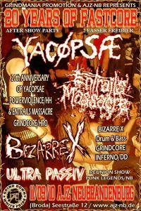 264. YACØPSÆ - ''Live @ AJZ, Neubrandenburg, Germany, 11.09.2010'' Version 02