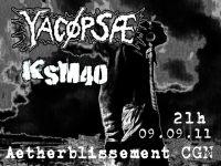 275. YACØPSÆ - ''Live @ Aetherblissement, Köln, Germany, 09.09.2011'' Version 02