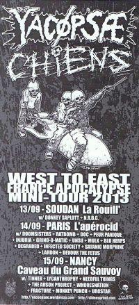 293. YACØPSÆ - ''Live @ La Rouill', Soudan, France, 13.09.2013'' Version 03