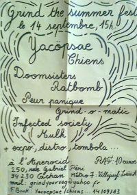 294. YACØPSÆ - ''Live @ Aperocid, Paris, France, 14.09.2013'' Version 04