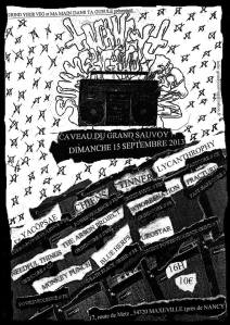295. YACØPSÆ - ''Live @ Caveu du Grand Sauvoy Maxevile, Nancy, France, 15.09.2013'' Version 03