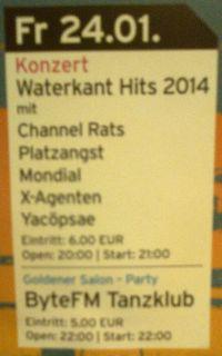 297. YACØPSÆ - Live @ Hafenklang, Hamburg, Germany, Version 2 (24.01.2014)