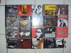 Grindcore- + Fastcore-Sammlung