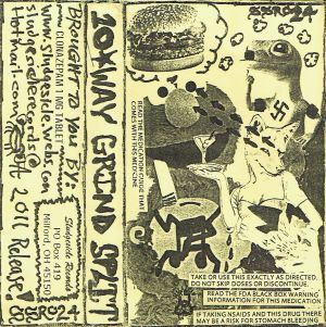 VARIOUS ARTISTS - ''10 way Grind split'' TAPE, 2011 (HP-Version)
