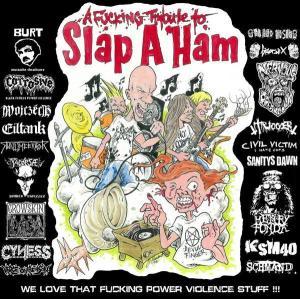 VARIOUS ARTISTS - ''A fucking tribute to Slap A Ham'' 12'' LP (Vorne)