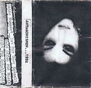 VARIOUS ARTISTS - ''Antagonismen ... 1992'' TAPE (HP-Version)