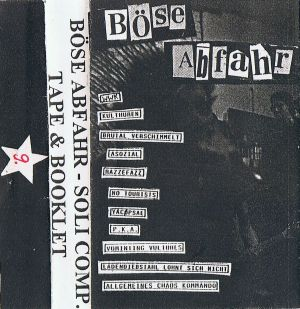VARIOUS ARTISTS - ''Böse Abfahr - Soli Comp.'' TAPE (HP-Version 01)
