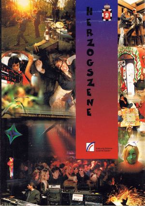VARIOUS ARTISTS - ''Herzogszene'' CD + Book (Germany, 1997) 01