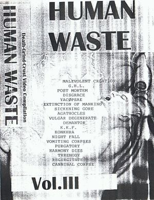 VARIOUS ARTISTS - ''Human waste # 3'' VIDEO (HP-Version)