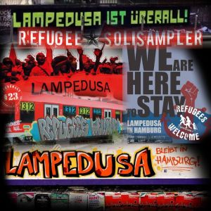 VARIOUS ARTISTS - ''Lampedusa Soli Sampler'' MP3's (Front)