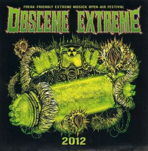 VARIOUS ARTISTS - ''Obscene extreme 2012'' CD (International, 2012)