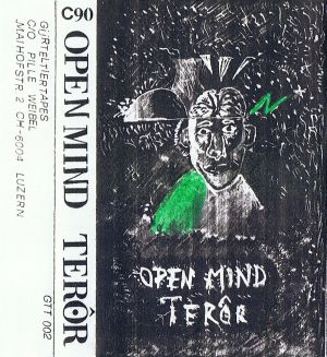 VARIOUS ARTISTS - ''Open mind terör'' TAPE (HP-Version)
