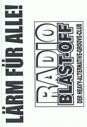 VARIOUS ARTISTS - ''Radio Blast-Off # 83'' RADIO SHOW (HP-Version)