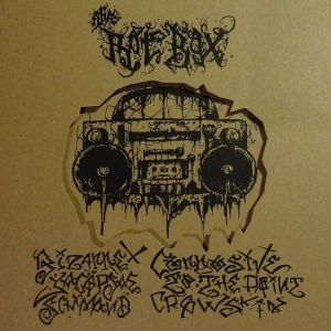 VARIOUS ARTISTS - ''The rot box'' 3 x 7'' EP-Box (Cover) 01
