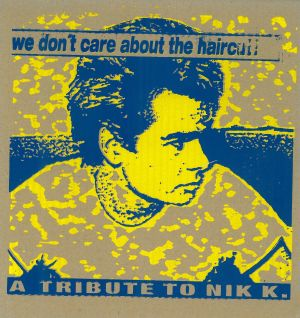 VARIOUS ARTISTS - ''We don't care ...'' 12'' LP (Front)