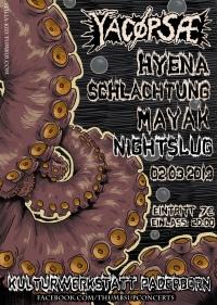 285. YACØPSÆ - ''Live @ Kulturwerkstatt, Paderborn, Germany, 02.03.2013''