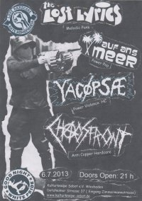 289. YACØPSÆ - ''Live @ Sabot, Wiesbaden, Germany, 06.07.2013''