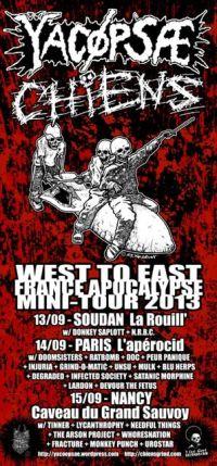 293. YACØPSÆ - ''Live @ La Rouill', Soudan, France, 13.09.2013'' Version 01