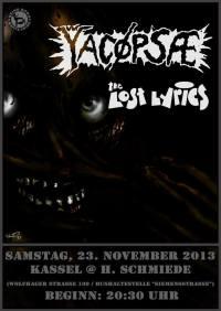 296. YACØPSÆ - ''Live @ Hammerschmiede, Kassel, Germany, 23.11.2013''