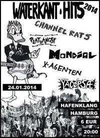297. YACØPSÆ - ''Live @ Hafenklang, Hamburg, Germany, 24.01.2014''