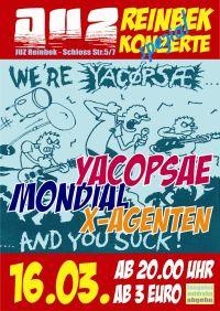 YACØPSÆ - ''Live @ Juz, Reinbek, Germany, 16.03.2013'' Version 04