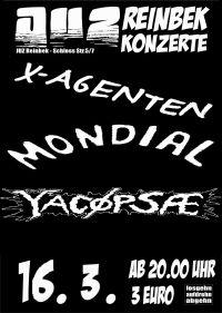 YACØPSÆ - ''Live @ Juz, Reinbek, Germany, 16.03.2013''