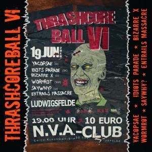 VARIOUS ARTISTS - ''Thrashcoreball VI'' 12'' LP (Front)