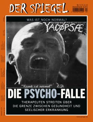 YACØPSÆ - ''Krank ist normal'' 7'' EP (Der Spiegel)
